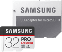 Samsung microSDHC PRO Endurance 32GB 100MB/s + SD Adapter