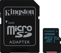Kingston microSDXC Canvas Go! 128GB 90MB/s + SD Adapter