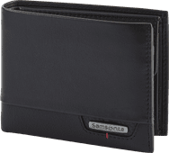 Samsonite Pro-DLX 4S SLG Billfold 7CC Coin Black