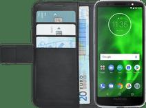 Azuri Wallet Magnetic Motorola Moto G6 Book Case Black