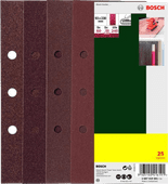 Bosch Schuurpapier 93x230 mm K60, 80, 120, 240 (25x)