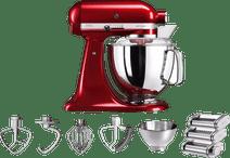KitchenAid Artisan 5KSM175PS Apple Red + Pastarola set