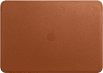 Apple MacBook Pro 15 Inches Leather Sleeve Saddle Brown