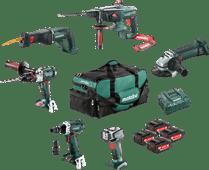 Metabo Construction & Renovation - 6 machines Combiset