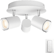 Philips Hue Adore 3-Spot Rond Wit
