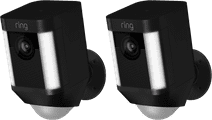 Ring Spotlight Cam Battery Zwart Duo Pack