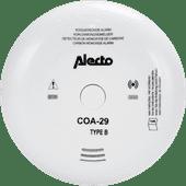 Alecto COA-29/7 Koolmonoxide melder met 7 jaar sensor