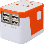 Lionheart Universal World Plug Orange