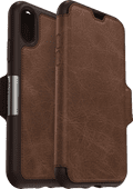 Otterbox Strada Apple iPhone Xs Book Case Bruin