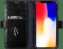 DBramante1928 Copenhagen Apple iPhone Xs Max Book Case Black
