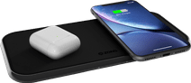 ZENS Dual Aluminum Wireless Charger 10W Black