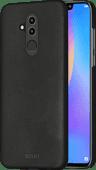 Azuri Metallic Soft Touch Huawei Mate 20 Lite Back Cover Black