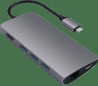 Satechi Usb C naar Usb A, Ethernet en HDMI Kabel Converter