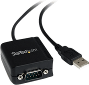 StarTech USB to RS232 Serial Cable Converter with COM
