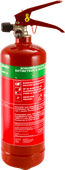 Alecto ABS-2 foam fire extinguisher 2 liters