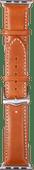 DBramante1928 Copenhagen Apple Watch 38/40mm Leather Strap Brown/Silver