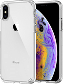 Spigen Ultra Hybrid Apple iPhone Xs / X Back Cover Transparent