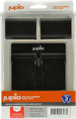 Jupio Kit: 2x Battery LP-E6 1700mAh + USB Dual Charger