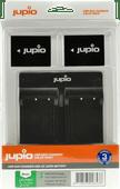 Jupio Kit: 2x Battery NP-W126S + USB Dual Charger