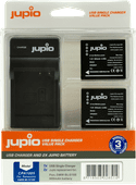 Jupio Kit: 2x Battery DMW-BLG10E + USB Single Charger