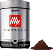 Illy Dark Roast ground coffee 250 grams
