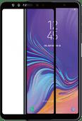 Azuri Gehard Glas Samsung Galaxy A7 (2018) Screenprotector Glas Zwart