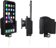 Brodit Padded Apple iPhone Xr / iPhone 11 Autohouder zonder Usb Kabel