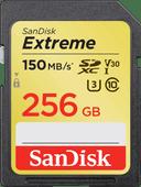 SanDisk SDXC Extreme 256GB 150MB/s