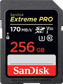 SanDisk SDXC Extreme Pro 256GB 170MB/s