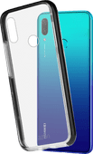 Azuri Flexible Bumper Huawei P Smart (2019) Back Cover Zwart