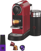 Krups Nespresso Citiz & Milk XN7615 Cherry Red