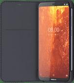 Nokia 8.1 Slim Flip Book Case Blauw
