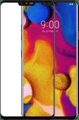 Azuri Tempered Glass LG V40 Screen Protector Glass Black