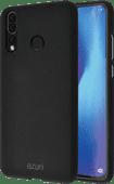 Azuri Flexible Sand Huawei P30 Lite Back Cover Black