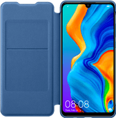 Huawei P30 Lite Flip Cover Book Case Blue