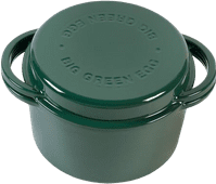 Big Green Egg Green Dutch Oven Rond