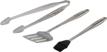 Big Green Egg Barbecue tool set stainless steel