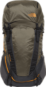 The North Face Terra 65L TNF Dark Gray Heather/New Taupe - Slim Fit