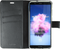 Valenta Booklet Gel Skin Huawei P Smart Book Case Zwart