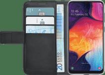 Azuri Wallet Magneet Samsung Galaxy A50 / A30s Book Cover Zwart