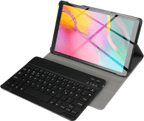 Just in Case Premium Bluetooth Keyboard Samsung Galaxy Tab S5e Book Case Black QWERTY