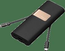 iWalk Secretary+ Powerbank 20.000 mAh Quick Charge 3.0 Zwart