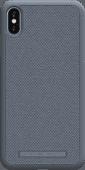 Nordic Elements Idun Apple iPhone Xs Max Back Cover Lichtgrijs