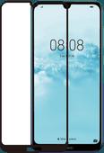 Azuri Rinox Gehard Glas Huawei Y6 (2019) Screenprotector Glas Zwart