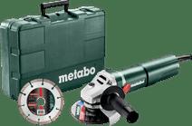 Metabo W 1100-125 Set