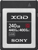 Sony XQD G 240GB High Speed R440 W400
