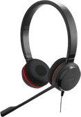 Jabra Evolve 20SE UC Stereo Bedrade Office Headset
