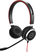 Jabra Evolve 40 UC Stereo Wired Usb C Office Headset