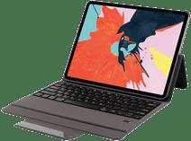 Just in Case Premium Apple iPad Pro 12,9 inch (2018) Book Case Zwart QWERTY