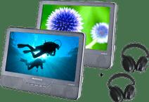 Autovision AV1900IR DUO Deluxe + 2x Autovision AV-IRS koptelefoon